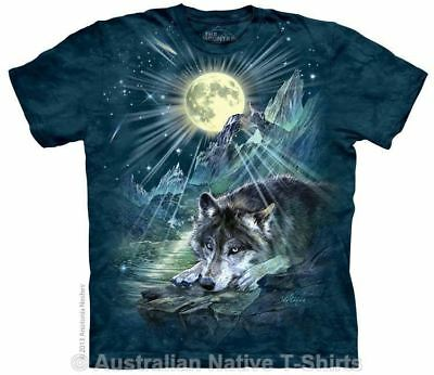 Wolf Night Symphony T-Shirt in Adult Sizes - Wolves by The Mountain T-Shirts