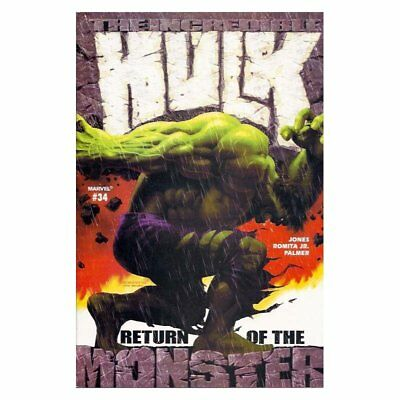 Incredible Hulk (2nd Series) 34 -  -