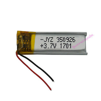 3.7V 60 mAh Polymer Li ion battery LiPo For Mp3 GPS Bluetooth pen Sat nav 350926