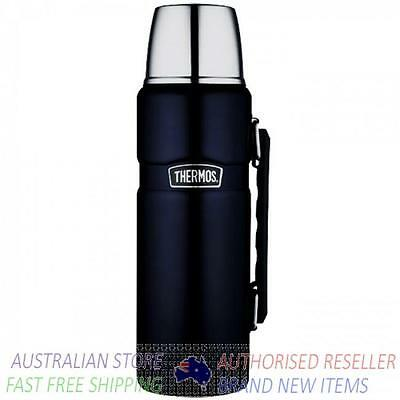 Thermos MIDNIGHT BLUE 2L Stainless King Insulated Flask