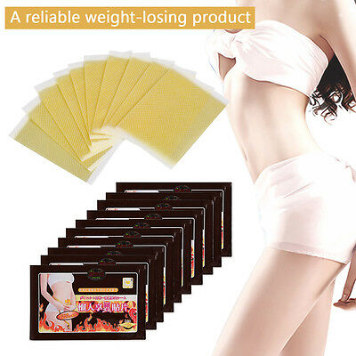 10x Slim Slimming Weight Loss Patches Burn Fat Body Wraps Trim Pads Detox Sheet
