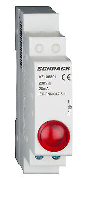 Modular LED indicator AMPARO Red 230V AC - AZ106801