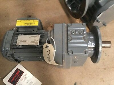 Sew eurodrive reduction gearbox .55kw
