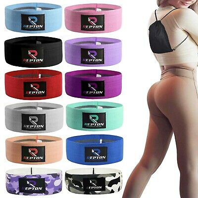 HIP CIRCLE Glute Resistance Bands Leg Squat Exercise Strength Booty Band NonSlip