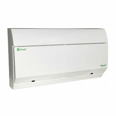 Schneider EZ9S2R7R7DCU Split Load Dual RCD Consumer Unit All Insulated 2+7+7