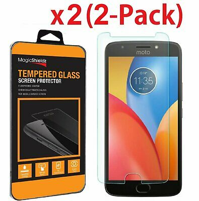 2-Pack Premium Screen Protector Tempered Glass Film For Motorola E4 / E4 Plus