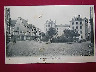 18 - Cher - CPA - BOURGES - Place Gordaine