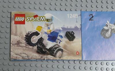 LEGO INSTRUCTIONS MANUAL BOOK ONLY 1249 Tri-motorbike  x1PC