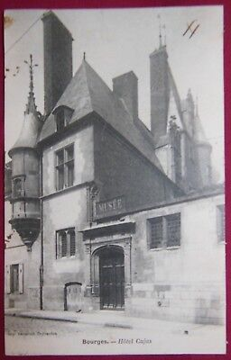 18 - Cher - CPA - BOURGES - Hôtel Cujas