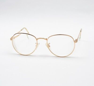 Randolph Engineering USA Brillenfassung 145mm Gold CLASSIC Italy Pilot Frames