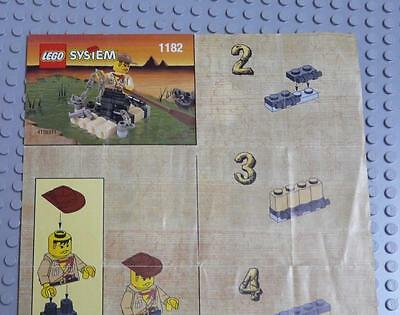LEGO INSTRUCTIONS MANUAL BOOK ONLY 1182 Adventurers Raft x1PC