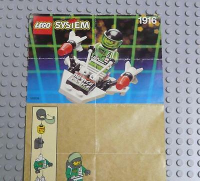 LEGO INSTRUCTIONS MANUAL BOOK ONLY 1916 Starion Patrol x1PC
