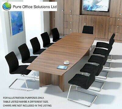 SVEN -Barrel Shape Conference, Boardroom, Meeting Table - 3000 x 1200 - Seat 10