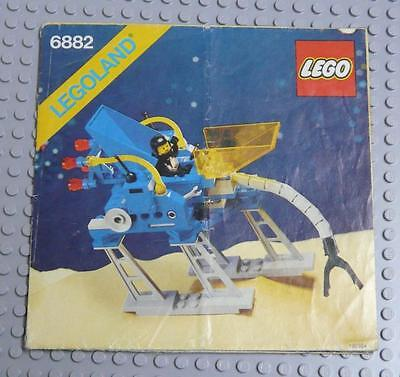 LEGO INSTRUCTIONS MANUAL BOOK ONLY 6882 Space Walking Astro Grappler x1PC