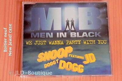 Snoop Doggy Dogg – We Just Wanna Party With You Men in black - 4 tr CD maxi-sing