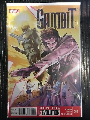 Gambit (Vol 5 2012) #8 NM- 1st Print Marvel Comics