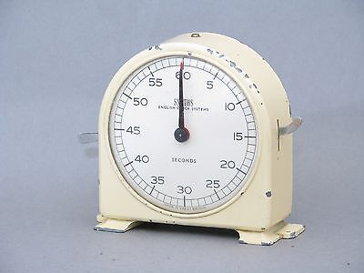 Vintage Smiths English Clock Systems Seconds and Minutes Darkroom Timer.