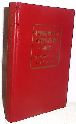 1963 Red Book 16th Ed US Coin Collecting Value Guide Hard Back NOS Numismatic