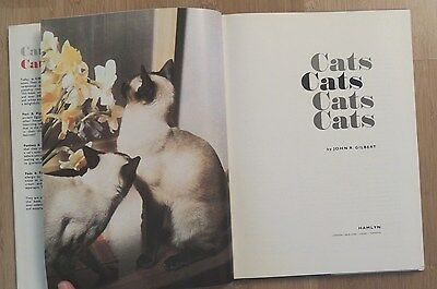 Cats.  3 books of photos and descriptions for the cat-lover