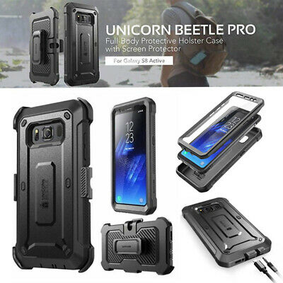 Galaxy S8 ACTIVE : SUPCASE UBPRO Full Cover With Screen Protector for S8 ACTIVE