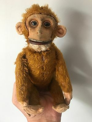Vintage Yes/No Schuco Jointed Monkey Tail Moves Head Side to Side & Opens Mouth