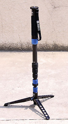 Sirui P-324SR Monopod For Camera Carbon Fiber Portable Travel Tripod Carrying