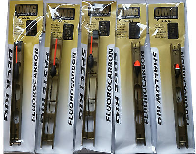 Pole Float Rigs Okuma OMG Fluorocarbon Pole Float Rigs