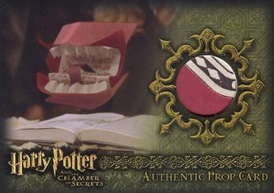 Harry Potter and the Chamber of Secrets Howler Prop Card HP P2 #020/190