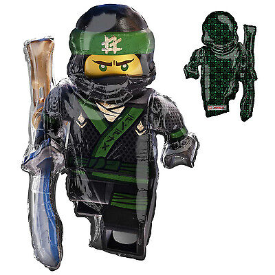 Lego Ninjago Movie Super Shape Double Sided Balloon Party Decoration Supplies