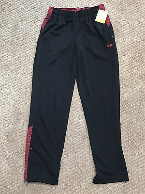 NWT CHAMPION C9 Duo Dry Youth Athletic Pants Boys Girls Size Large 10-12 Black