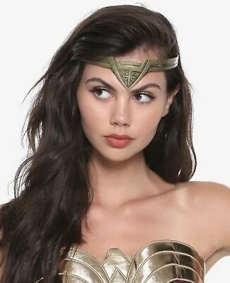 DC Comics Wonder Woman Burnished Gold Tone Tiara Cosplay Halloween New In Box!
