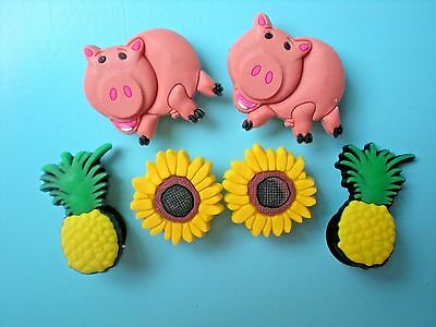 Jibbitz Croc Clog Shoe Charm Button Plug Accessorie WristBand Pig Pineapple