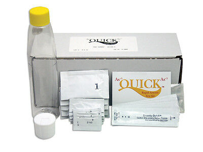Quick Arsenic WOOD Test kit, 5 TESTS!! home well 481396-W