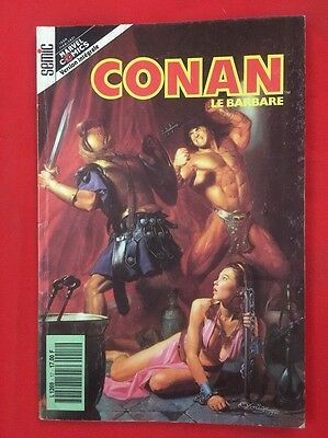 Conan Barbare N'17 Semic Version Intégrale 1991 Bd Souple Marvel Comics