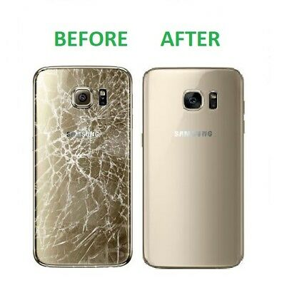 Samsung Galaxy S7 / S7 Edge Back Glass Repair Service 180 DAYS WARRANTY