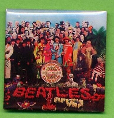 The Beatles Sgt Pepper Lonely Hearts Club Band 50Th Anniversary Album Cover Pin