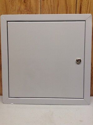 Tough Guy 1Uew8A Access Door, Standard With Key, 14X14In