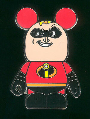 Vinylmation Pixar 1 Mystery The Incredibles Mr. Incredible Disney Pin 95714