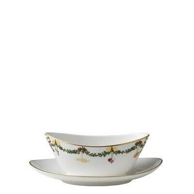 Star Fluted Christmas Sauciere Royal Copenhagen