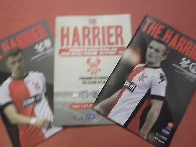 2017/18 Kidderminster Home Programmes Choose From