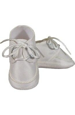 Little Things Mean A Lot Christening Baptism Shoes Size 3 (6-9 Months)