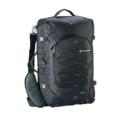 Caribee Skymaster 40 carry on 3 in 1 travel backpack BLACK + TSA cable lock