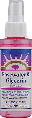 Rosewater and Glycerin, Heritage Store, 4 oz