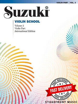 Suzuki Violin School Volume 3 Book Only - Revised Edition - Violin