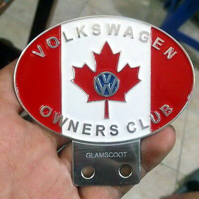 vintage VW VOLKSWAGEN CANADA car club badges in Badges & Mascots BUS THING