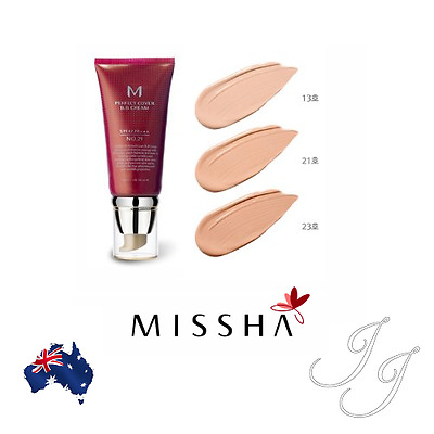 MISSHA M Perfect Cover BB Cream SPF42 PA+++ 50ml 3 Shades Available