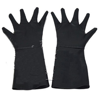 Game of Thrones Jon Snow Cosplay Gloves Accessory Black PU Gloves Adult