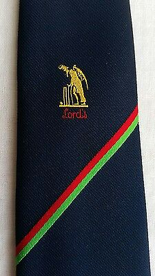 Vintage Lord's Old Father Time cricket tie