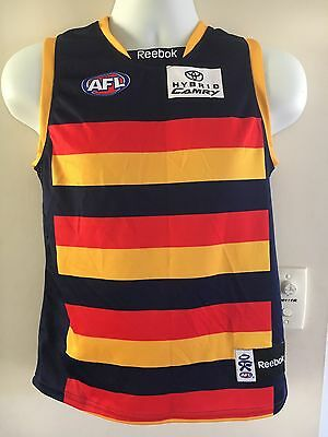 Adelaide Crows Youth Guernsey, Size Medium