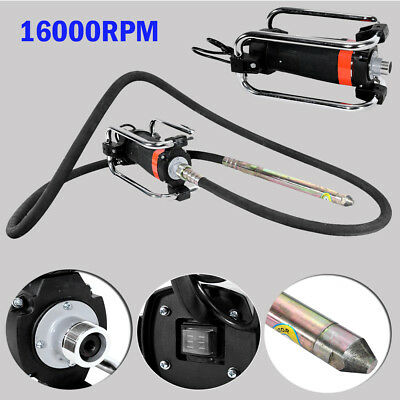 1100W Electric Concrete Vibrator Motor w/ 14-3/4 Ft Poker to Remove Air Bubbles